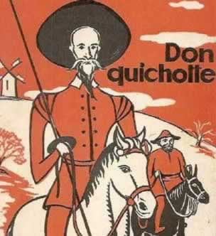 Don Quichotte et Sancho Pansa