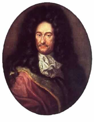 Gottfried Wilhelm Leibniz, Philosophe allemand, scientifique, diplomate et bibliothécaire