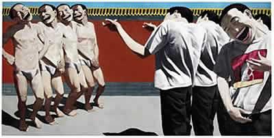 yue minjun execution - culture asiatique dans l'art contemporain