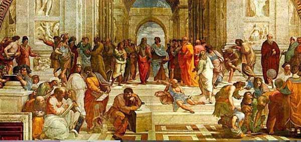 Raphael-l-ecole-d-Athene