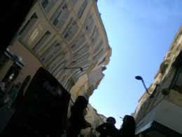 photo jean marc tonizzo, une rue distordue