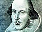 William Shakespeare, poète, dramaturge et acteur anglais 1564 - 1616.
